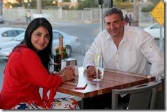 Claudia Palomo y Christian Terrsy