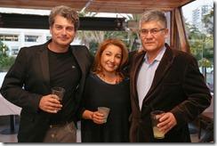Felipe Labbé, Sandra Martinez y Luis Elgeta