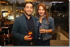 Ignacio Mondaca y Rocio Valenzuela