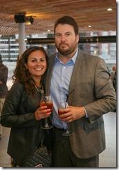 Carolina Burgos y Victor Bahamondez
