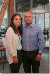 Daniela Gallardo y Fernando Garay