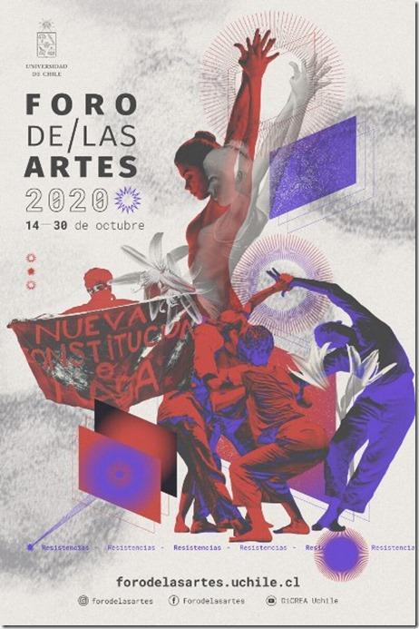 Foro de las artes - Afiche