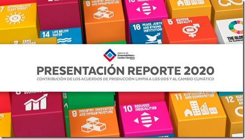 Reporte 2020 ODS y Cambio Climático